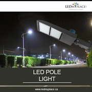 Install 150W LED Pole Lights and Let People Enjoy their Night Life
