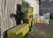 Recycling machine of GREENMAX foam compactor A-C100